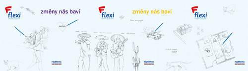 04248cacb Agentura Rust, Klemperer stojí také za novou podobou loga FLEXI životního  pojištění. V nové podobě je logo ztvárněno bez uzavřeného rámečku, ...