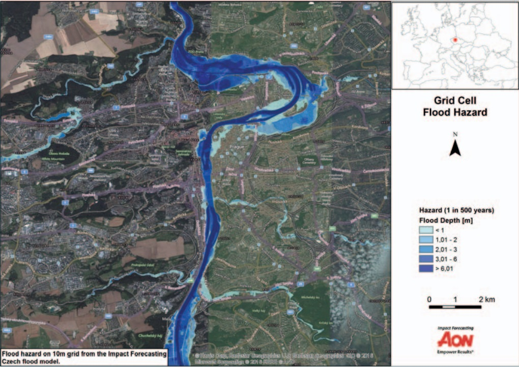 Mapa Praha Povodnova Mapa