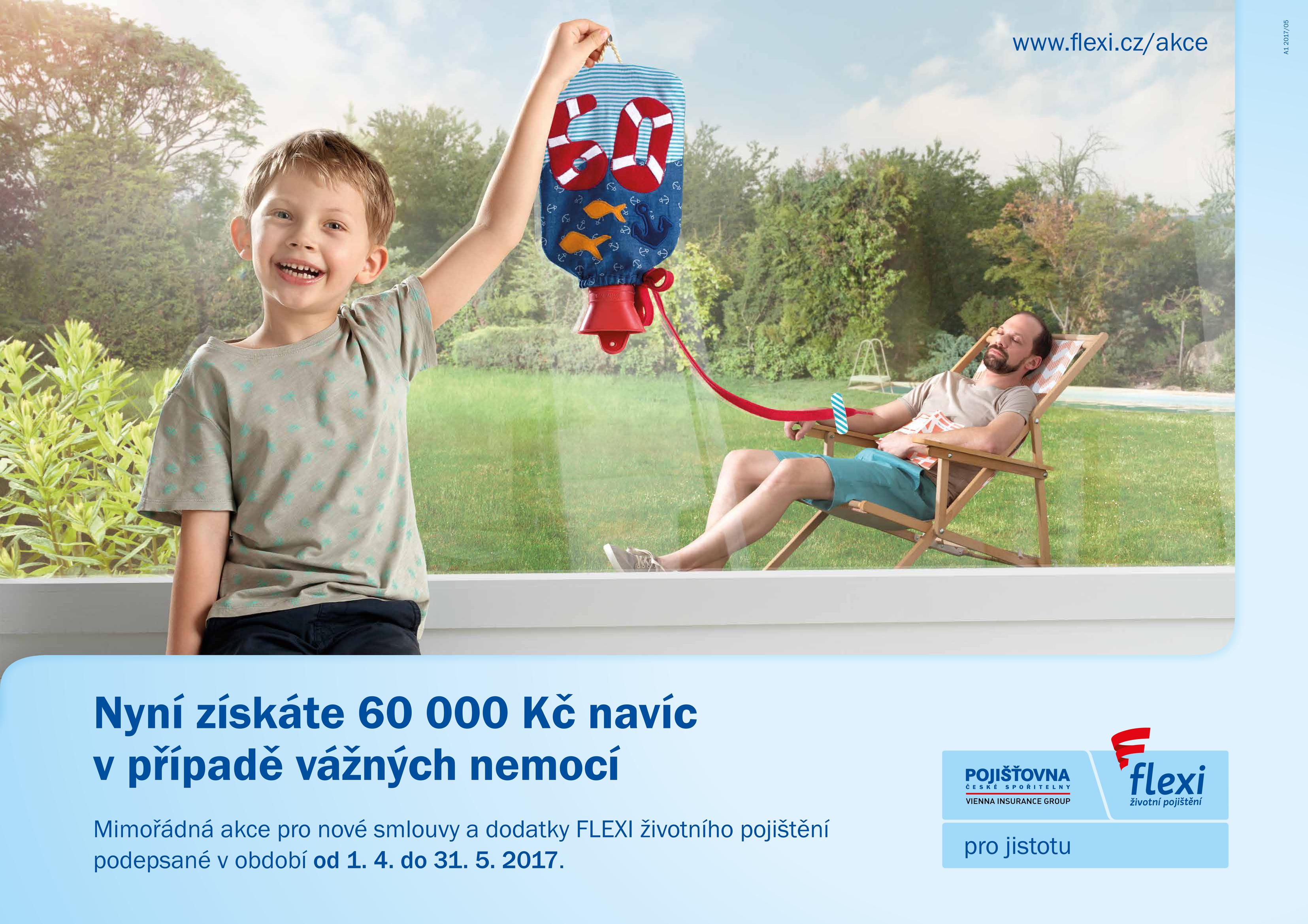 8d47be6fb Pojišťovna České spořitelny odstartovala kampaň na FLEXI životní ...